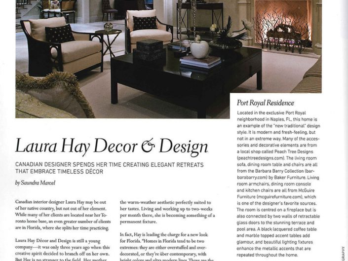 Luxury Home Quarterly Spring 2012